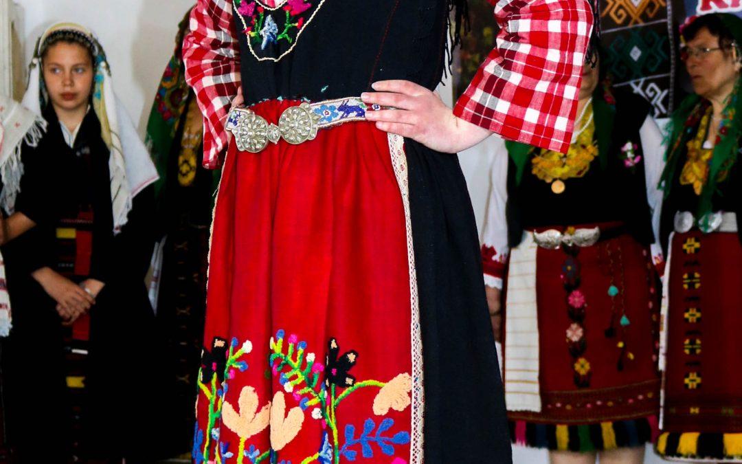 Сукманен костюм от село Калугерово